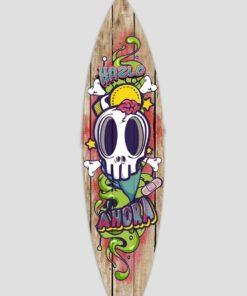 Tabla de surf decorativa hazlo ahora