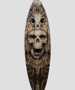 Tabla de surf decorativa inca